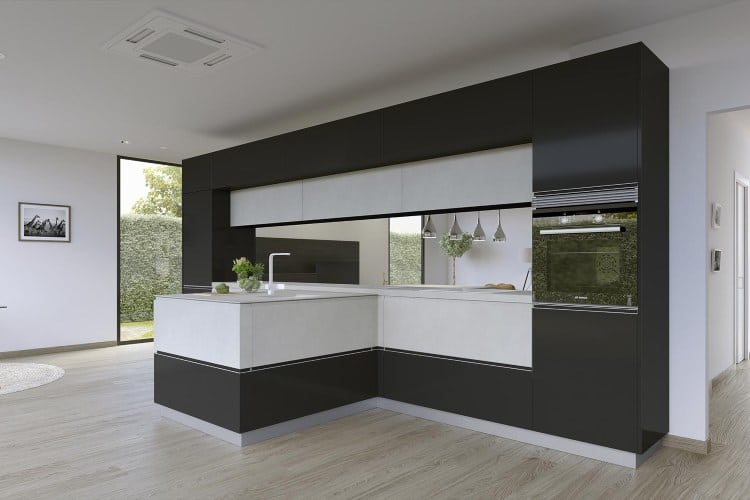 reforma de cocina con muebles de cocina Senssia