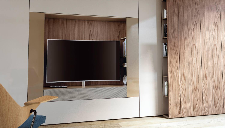 Sistema ROOMY de Caccaro en versión para TV.