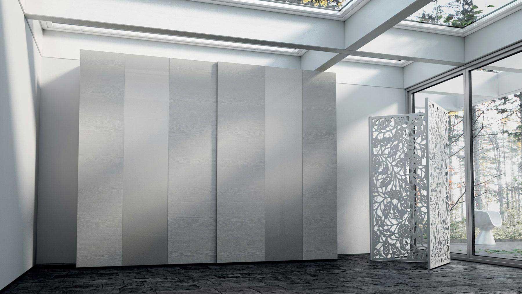 Vista de un armario de la serie FORM de Caccaro
