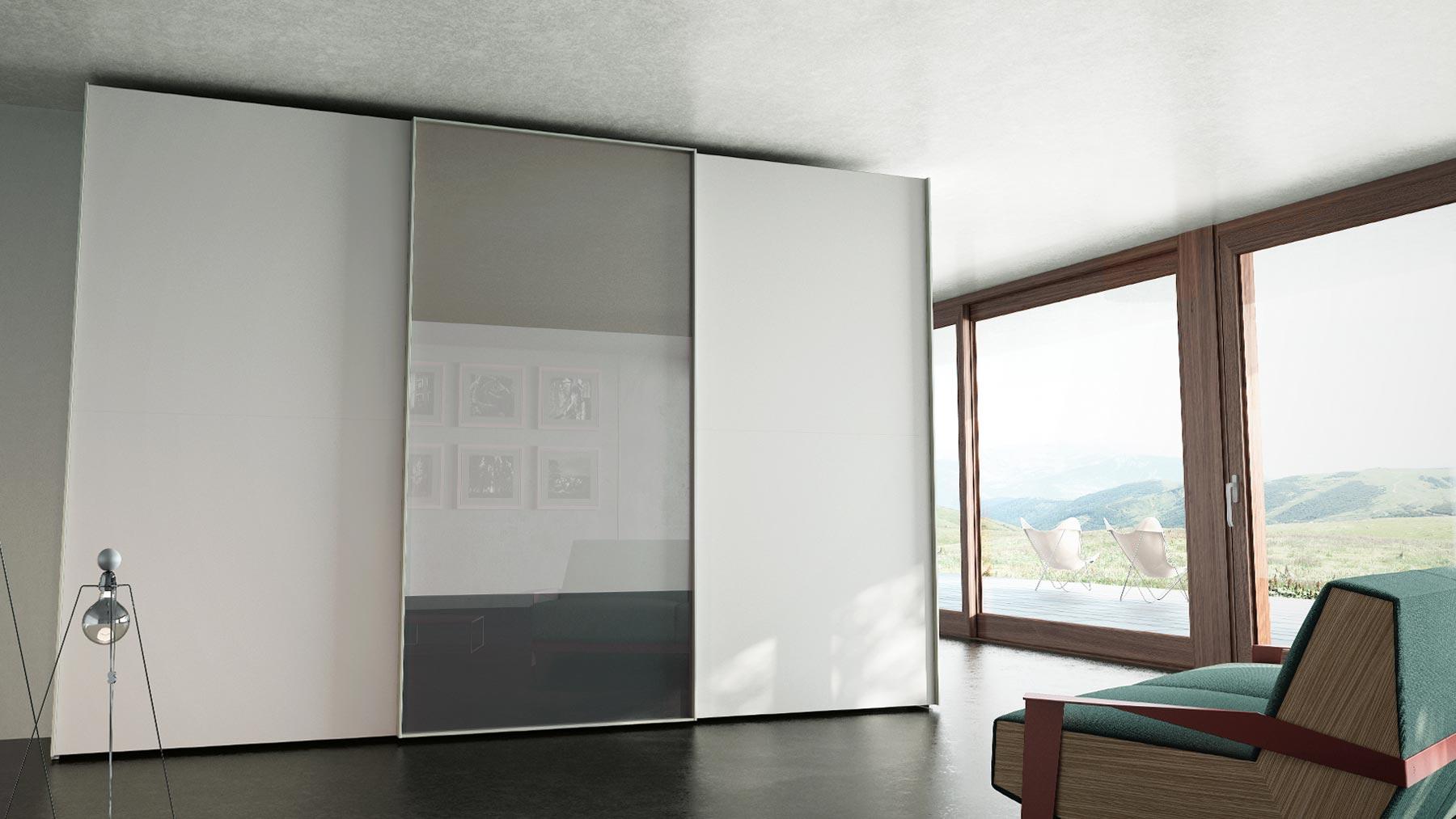 Modelo de armario de la serie LOOM de Caccaro
