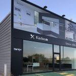 Fachada de tienda de cocinas, baños y armarios, Kitchen in O Grove