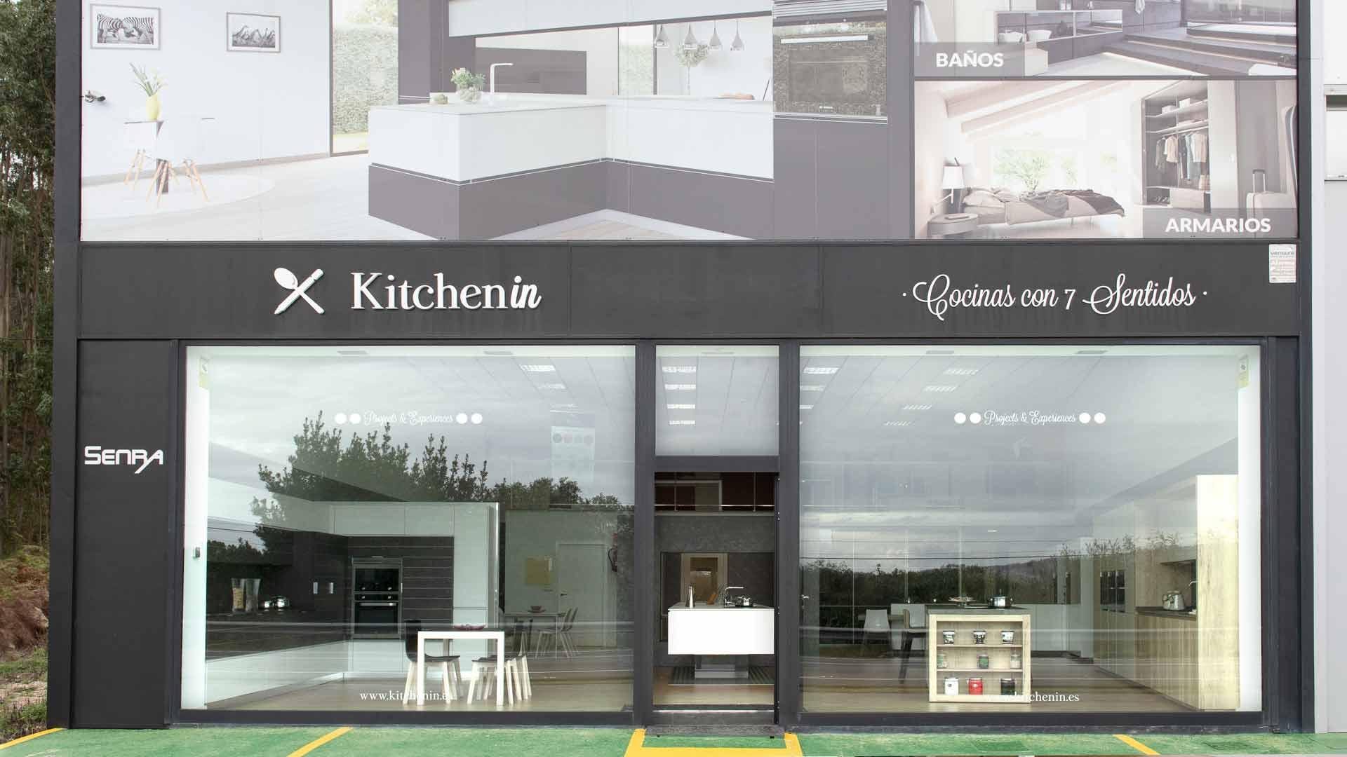 Fachada Tienda Kitchen in O Grove