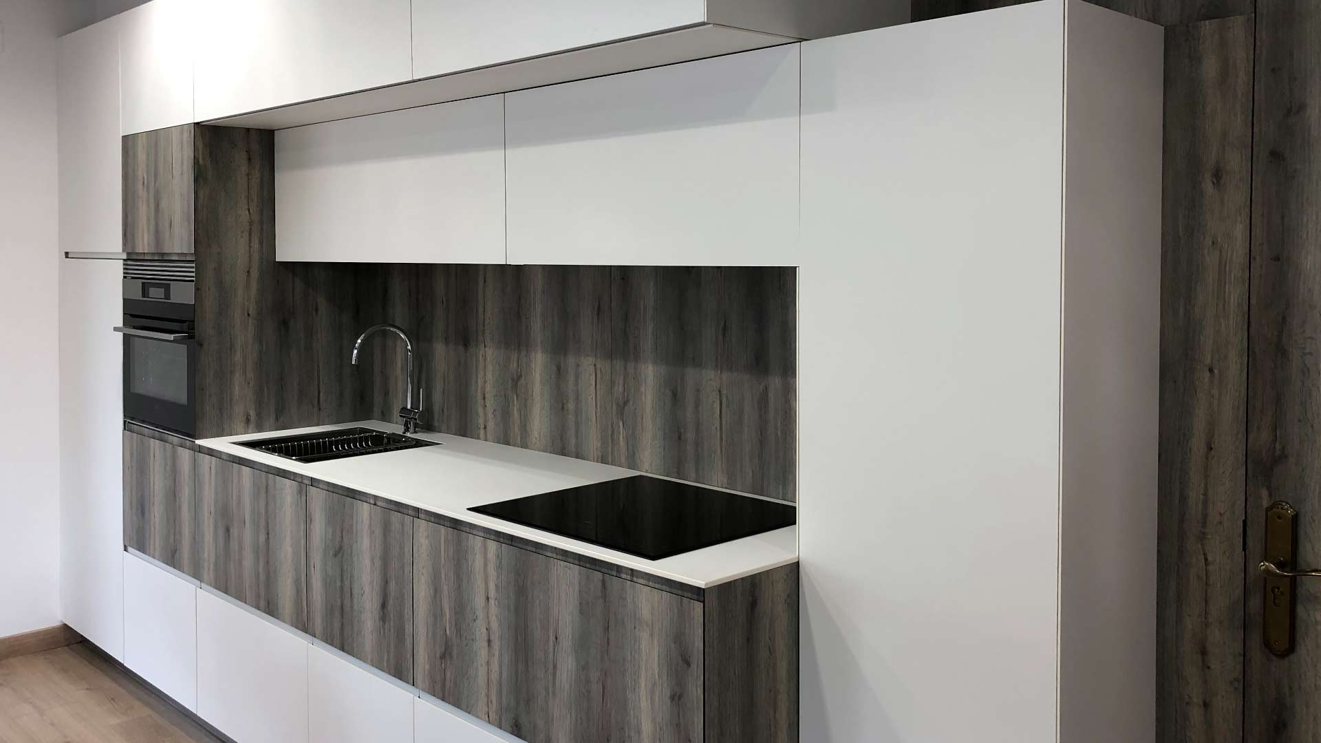 Cocina lineal Kitchen in Ourense