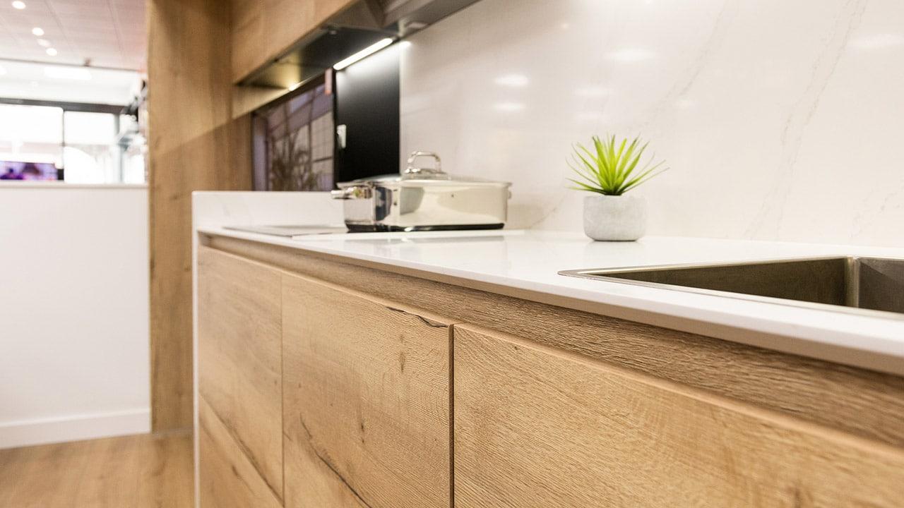 Encimera de cocina en Kitchen in Corner O Grove