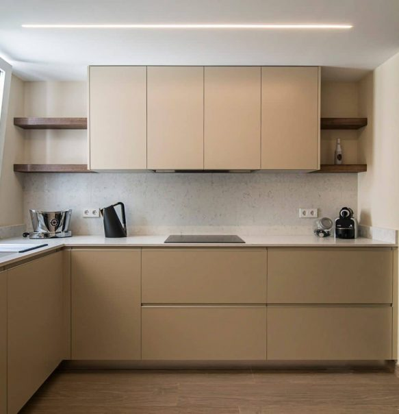 mobiliário de cozinha moderno
