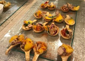 plato del Showcooking realizado por Kitchen in