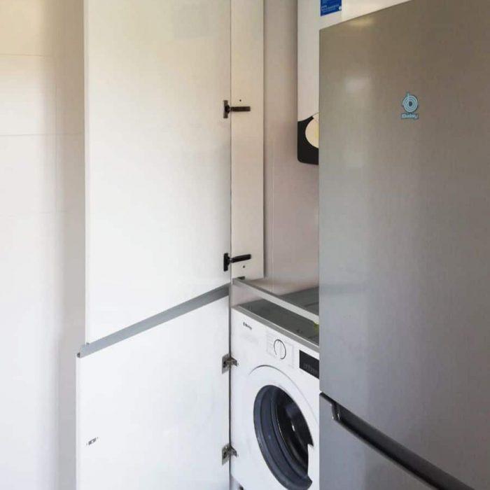 Mueble lavadora y caldera