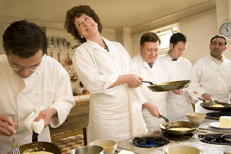 5 cocinas de pelicula: Julia & Julie